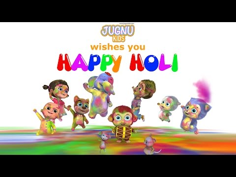 Holi Dance Video - Happy Holi from Jugnu Kids