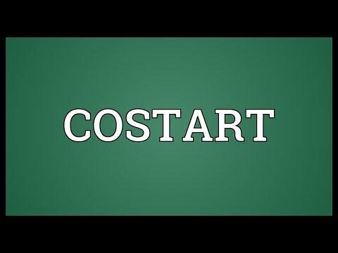 Header of Costart