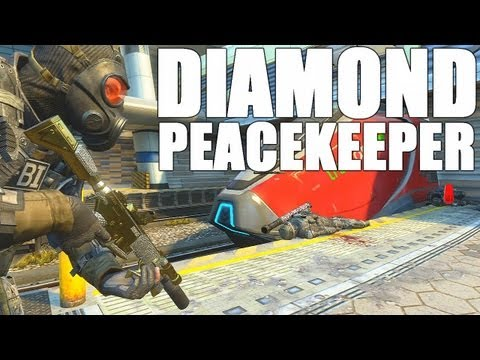 BO2: Diamond Peacekeeper SMG Gameplay and Gun Review!