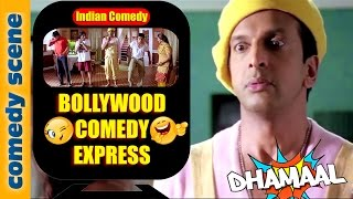 Javed Jaffrey Comedy {HD} | Bollywood Comedy Express | Dhamaal Comedy Scenes | Indian Comedy