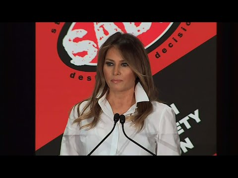 First Lady: Kindness & Compassion Are Important