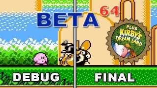 Beta64 - Kirby's Adventure & Kirby's Dream Land