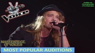 MOST POPULAR AUDITIONS ON THE VOICE [PART 1]