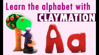 Alphabet Clay Animation / Stopmotion
