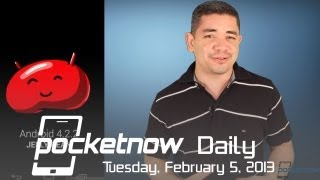 HTC's M7 To Bring Amazing Camera, Android 4.2.2 Rumors, iPad Radio Button & More - Pocketnow Daily