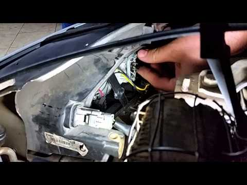Como trocar a lâmpada do farol do Peugeot 206