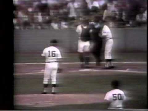 Mickey Mantle 1973 - His Last Home Run in Yankee Stadium, OTD, 8/11/1973