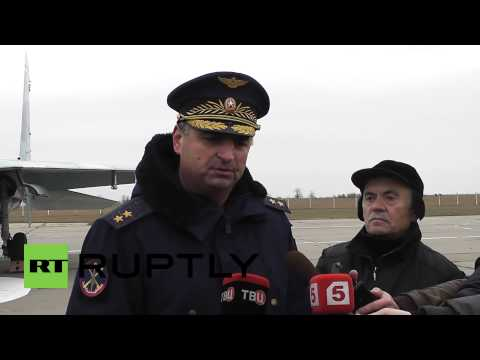 Russia: See the Sukhoi Su-27SM's just deployed to Crimea
