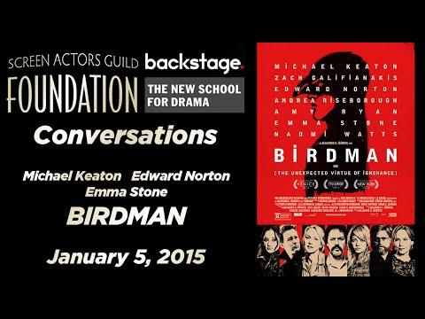 Conversations with Michael Keaton, Edward Norton, and Emma Stone of BIRDMAN