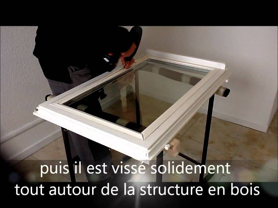 r novation de fen tre en double vitrage youtube. Black Bedroom Furniture Sets. Home Design Ideas