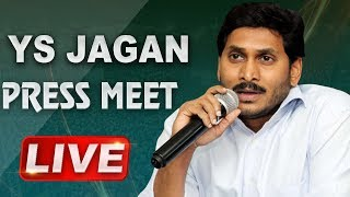YS JAGAN LIVE | Press Meet From AP Bhavan in Delhi | ABN LIVE