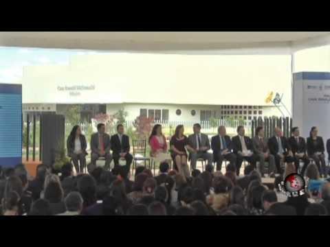 Puntual TV [20141023] Inaugura Moreno Valle y SEDIF, Casa Ronald McDonald Puebla-México