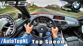 2018 BMW 1 Series F20 125i AUTOBAHN POV ACCELERATION & TOP SPEED by AutoTopNL