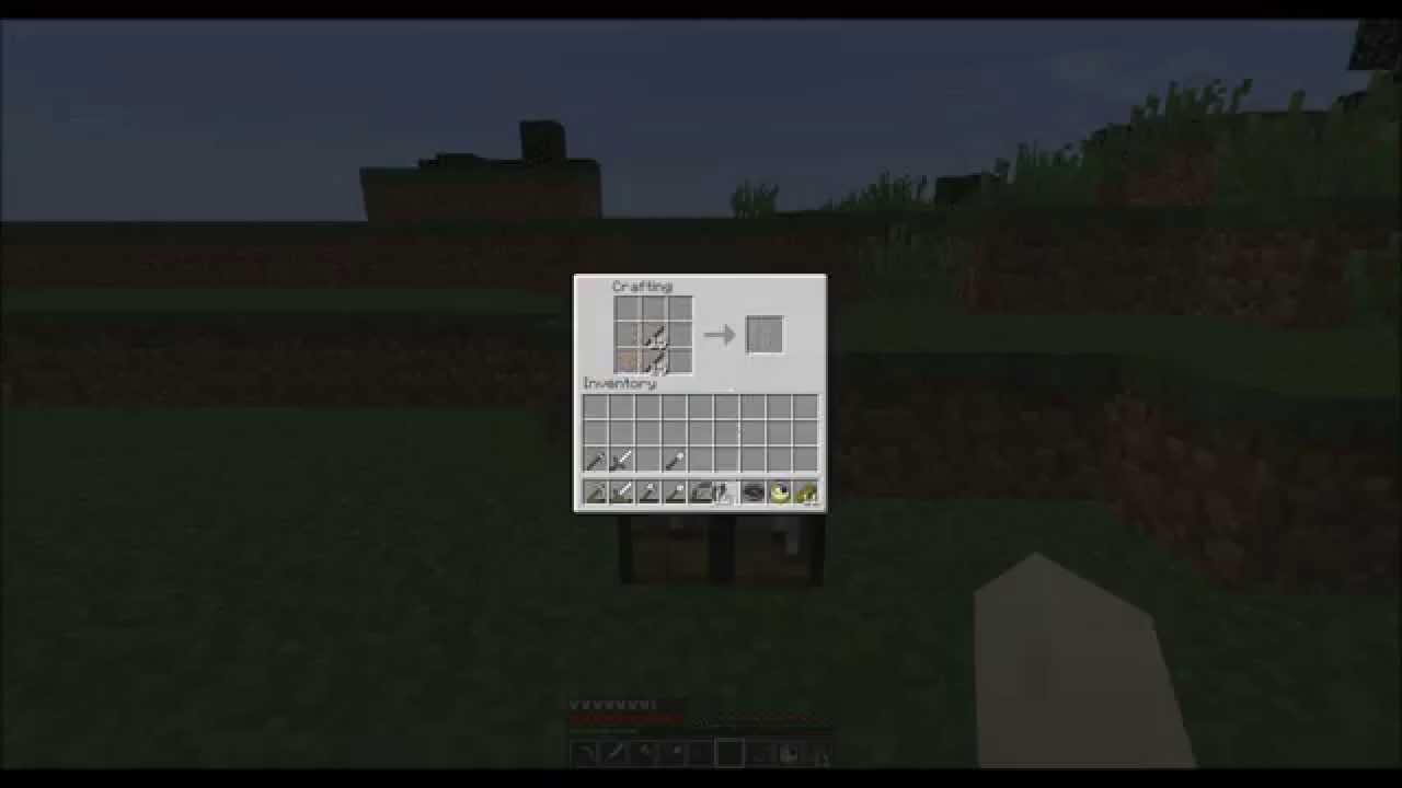 how to create a fence in minecraft