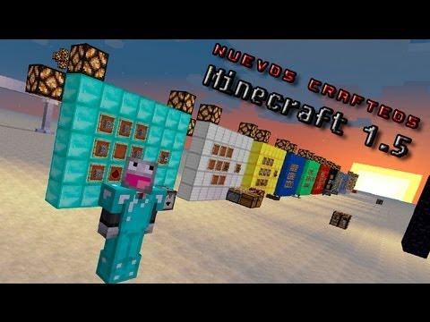 Minecraft   Los crafteos de la 1.5!!! (PreView)