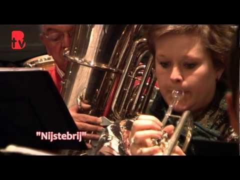 voorproefje gezamenlijk concert van Fanfare Juliana uit Limmel en St Martinus uit Itteren