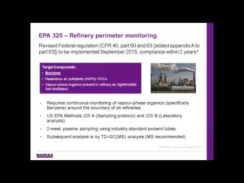 A Guide to Complying with EPA Method 325: Petroleum Refinery Fenceline Monitoring