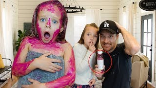 WE GOT PAYBACK ON PEYTON!!! (OUR FIRST TIME PRANKING HER)