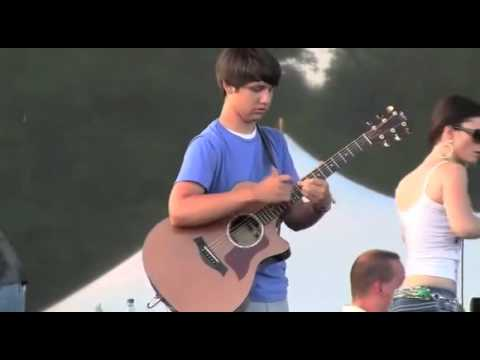 Great Guitar Player Freestyle - 15 Y.O. - Amazing Performance.