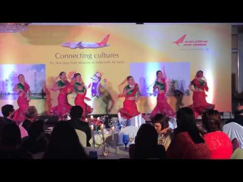 """akshaya  kathak- choregraphed-directed  """"DANCING MOODS"""" FOR AIR INDIA CONCERT 18JULY 2014 MOSCOW"""