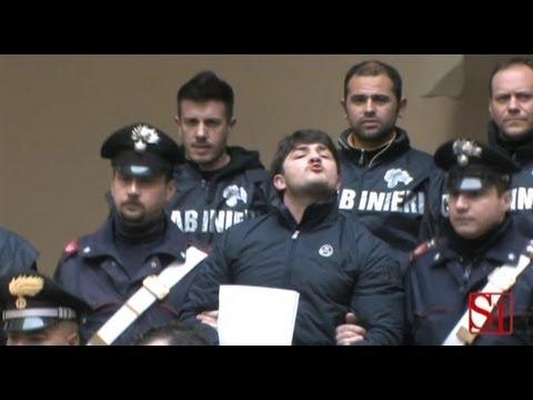 Napoli - Arrestato il presunto killer di Lino Romano 1 (13.03.13)
