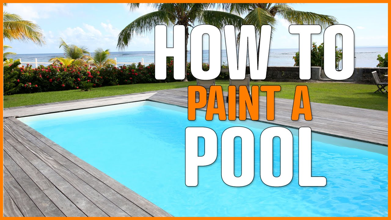 Swimming Pool Paint Decorative And Protective Concrete And Cement Substrates Easy Youtube