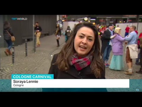 Security measures rise in Cologne before carnival begins, Soraya Lennie reports