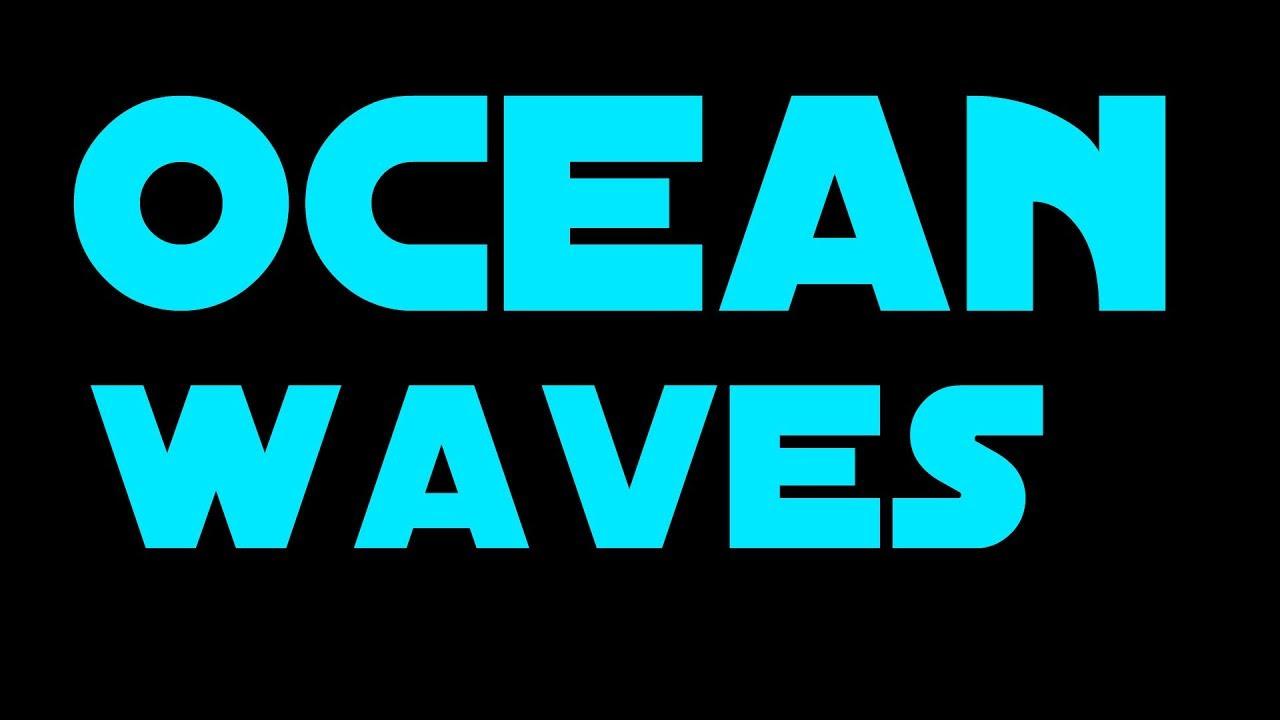 Photographs of tsunami waves