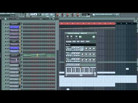 Armin Van buuren Shiver remake with FL Studio and only 3xOsc synths
