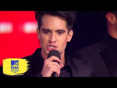 Panic! At The Disco Accepts Best Alternative Award | MTV EMAs 2018