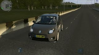 City Car Driving 1.4.1 Renault Twingo RS 133 Coupe (0-200)Son Hız(Top Speed)