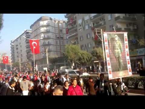 Mersin-Toroslar Belediyesi 3 Ocak Kurtuluş Yürüyüşü MERSİN 2013-01-03