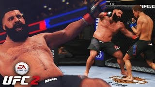 DJ Khaled Has POWER! Win Win Win No Matter What! EA Sports UFC 2 Ultimate Team Gameplay