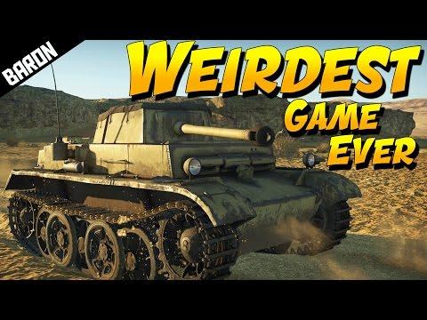 Weirdest Game EVER (War Thunder Tanks - Panzer II H)