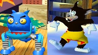 Tom and Jerry War of The Whiskers / Robocat and Butch Team / Cartoon Games Kids TV