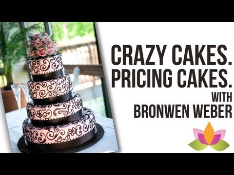 Craziest Cakes, Pricing Cakes, &amp; Using Fondant - Interview with Bronwen Weber | Cake Business Tips