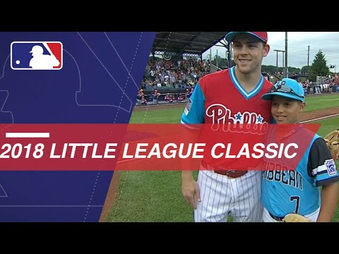 Mets, Phillies play in 2018 Little League Classic