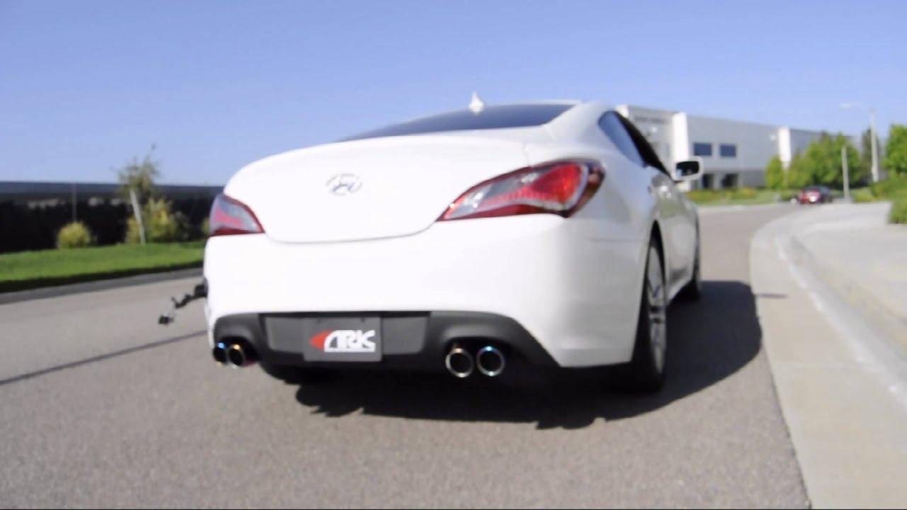 2013 Hyundai Genesis Coupe 3 8 Magnaflow Exhaust Wroc