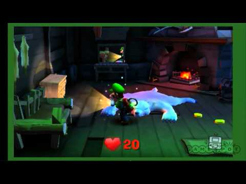 Comic-Con - Luigi's Mansion: Dark Moon Stage Demo - Comic-Con 2012