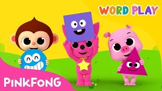 Shape Monsters | Word Play | Pinkfong Songs for Children