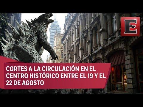 Rodaje de Godzilla provocará cierres viales en el Centro Histórico