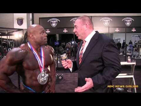Kai Greene 2nd Place 2014 Mr  Olympia Interview