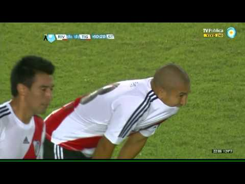 Gol de Carlos Luna - River vs Tigre - Torneo Final