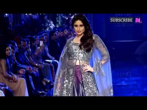 Kareena Kapoor Khan on Ramp at Final Day of LFW