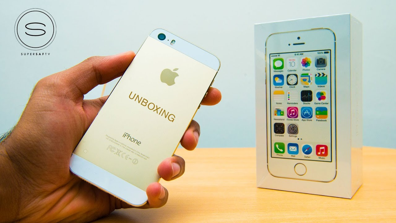 Iphone 5s Gold Unbox Iphone 5s Gold Unboxing uk