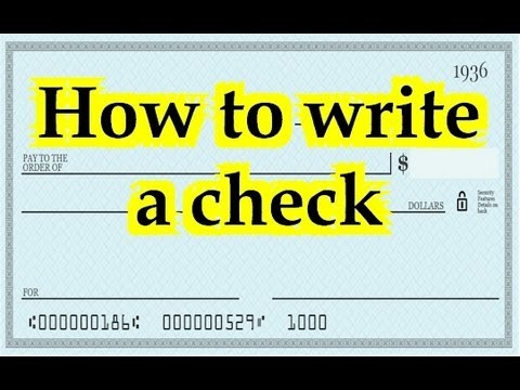 how to write a personal check Filling out a check for the first time or for the first time in a while you might have questions, such as where to sign a check and how to write a check with cents.