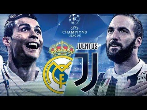 REAL MADRID VS JUVENTUS UCL WATCHALONG  STREAM