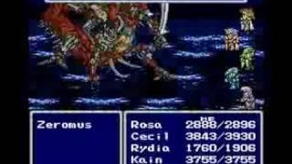 Final Fantasy IV Easy Type Zeromus