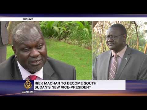 South Sudan's Kiir reappoints rival Machar as deputy