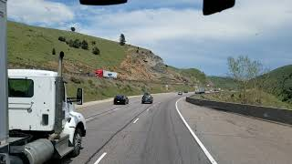 Download Song A Real Look at the Hill That Contributed to the Accident that Killed 4 on I-70 in Denver! Free StafaMp3